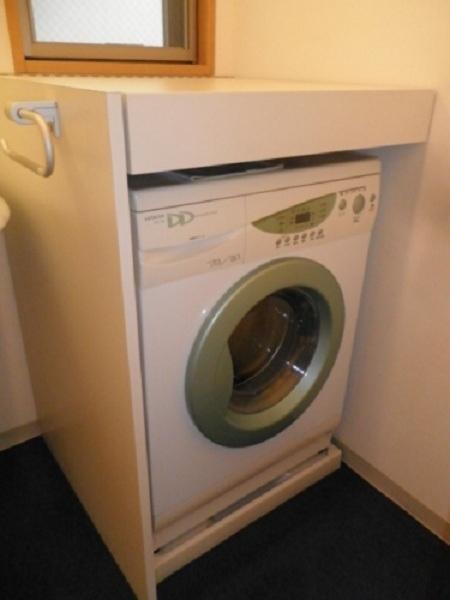 ドラム式洗濯乾燥機付き